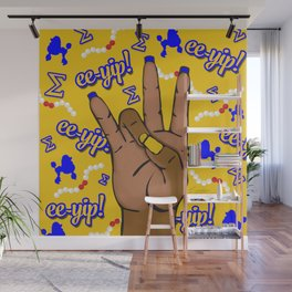 Sigma Gamma Rho Hand Sign By Vizzy Nakasso Wall Mural