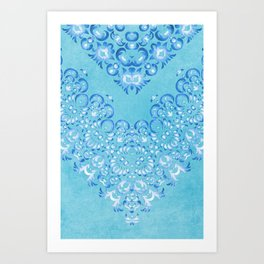Floral Fairy Tale 2 Art Print
