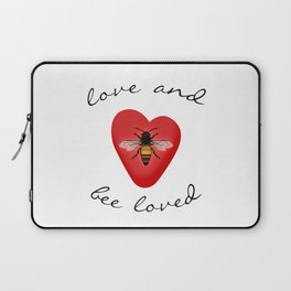 Love and Bee Loved Laptop Sleeve
