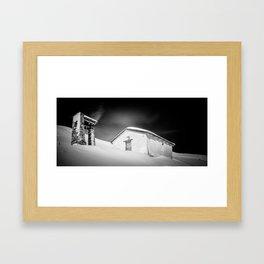 Alp da Stierva Chapel Framed Art Print