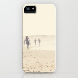 surfing life II iPhone Case