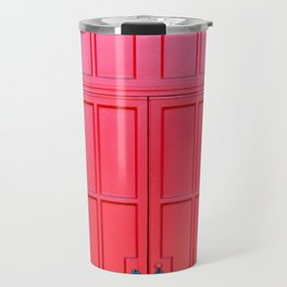 Bright Red Doors Travel Mug