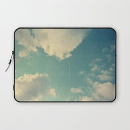 That Cloud Looks Like a Big White Balloon on a String Laptop Sleeve