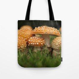 Amanita Colony... Tote Bag