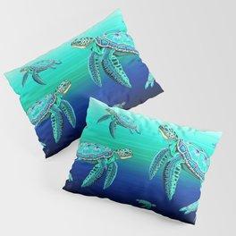 Sea Turtle Turquoise Oceanlife Pillow Sham