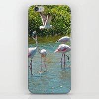 lovers iPhone & iPod Skins featuring Lovers by CrismanArt