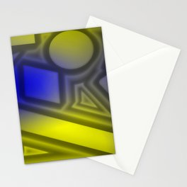 Dimmed light Stationery Cards