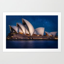 Millions of Stars at the Opera Art Print