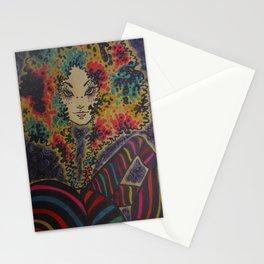Marla blue eyes Stationery Cards