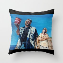 The Big Lebowski - Donny's Ashes Throw Pillow