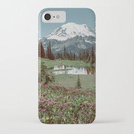 Kevin Russ x Parks Project - Mount Rainier National Park iPhone Case