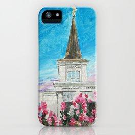 Helsinki Finland LDS Temple iPhone Case