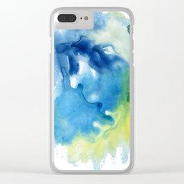 Sea Triad 1 Clear iPhone Case