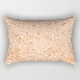 Vintage Organic Paper Texture Rectangular Pillow