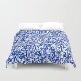 Blue Room Duvet Cover