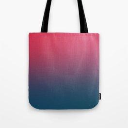 BLOOD NIGHT - Minimal Plain Soft Mood Color Blend Prints Tote Bag