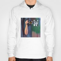 les mis Hoodies featuring Les Yeux  by Bruce Stanfield