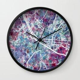 Bath map NY New York Wall Clock