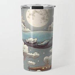 Ocean Meets Sky Travel Mug