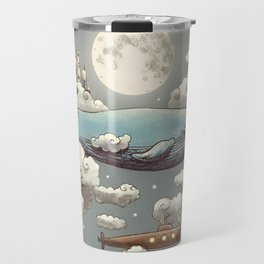 Ocean Meets Sky Travel Mug