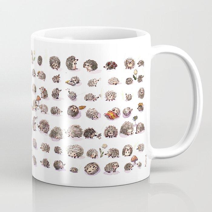 A hundred hedgehogs Coffee Mug