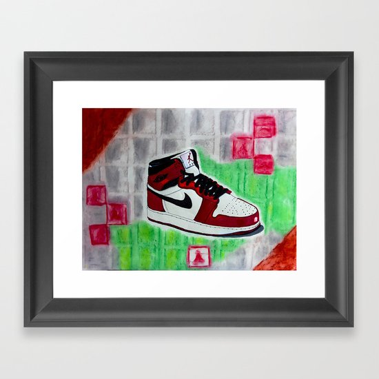 Retro 1 Framed Art Print
