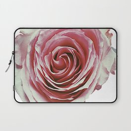Faded Pink Rose Rhode Island Laptop Sleeve