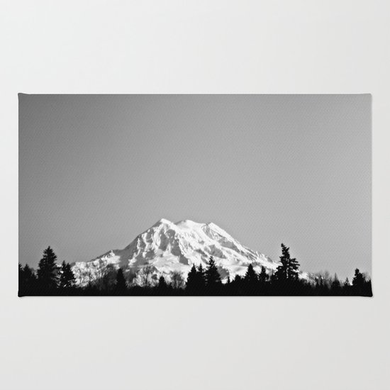 Mt. Rainier Rug