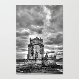 HDR Tower Canvas Print