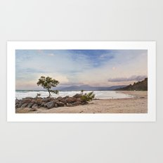 Windy 4mile Beach Art Print