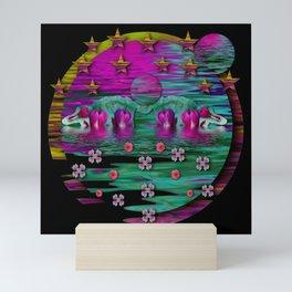 Moon Island In Paradise Mini Art Print