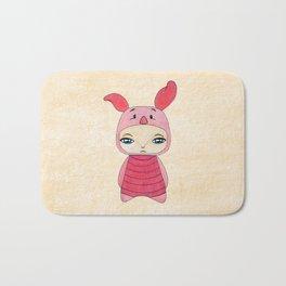 A Boy - Piglet (porcinet) Bath Mat