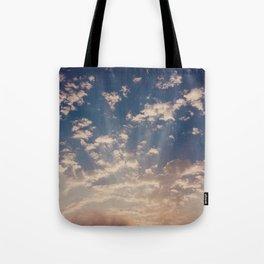 cape town skies Tote Bag