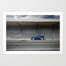 BMW Z4 M Coupe Art Print
