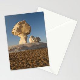 White Desert, Egypt Stationery Cards