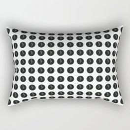 (Overworked) Guardian Angel Polka Dots Rectangular Pillow