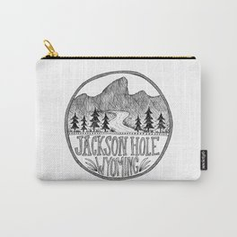 Jackson Hole Wyoming Carry-All Pouch