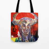 native Tote Bags featuring NATIVE by Art_Konstantinov
