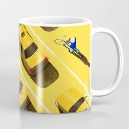 New York Cabs Coffee Mug
