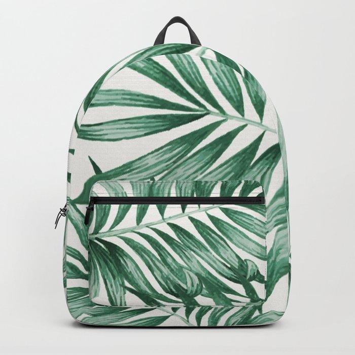 Palm Leaves Rucksack
