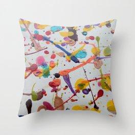 Splodge Throw Pillow