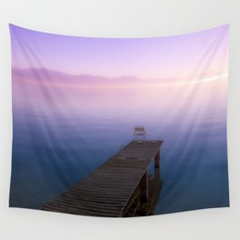 Infinite Sunset - Landscape Photography Wall Tapestry