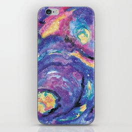 star party iPhone Skin