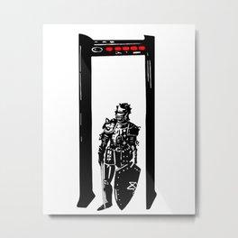 Everyday Heroes - Air Port Security Champion Metal Print