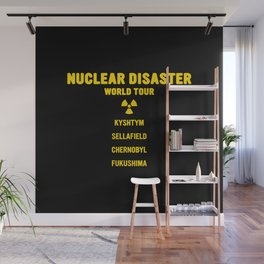 NUCLEAR DISASTER WORLD TOUR Wall Mural