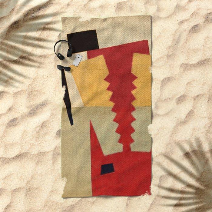 Xolotl Beach Towel