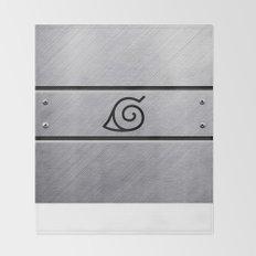 Naruto Headband Throw Blanket