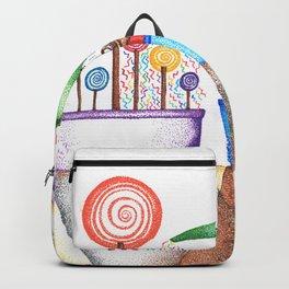 imagine (pointillism) Backpack