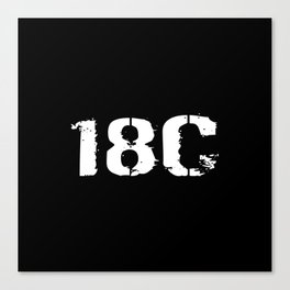 18C Special Forces Engineer Canvas Print