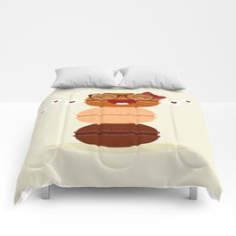 Pile de macarons Comforters